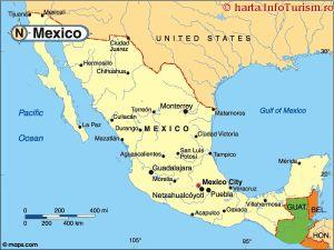 harta_politica_Mexic
