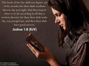 Joshua 1.8