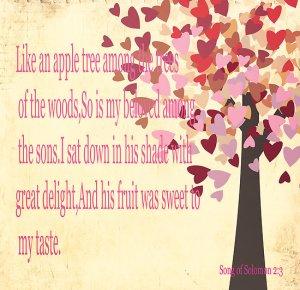 Ca un Măr între copacii pădurii