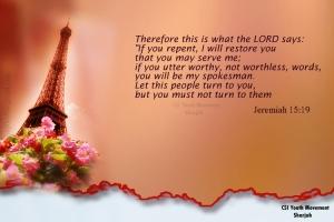 Jer. 15 19