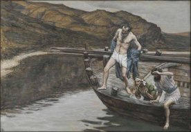 PeterJumpsIntoTheWaterTissot
