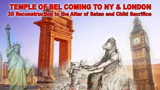 Temple of Baal New York and London Foto Disclose.tv