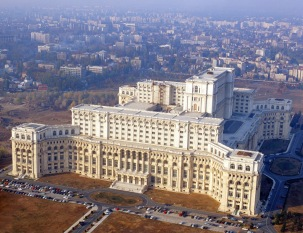 Casa Poporului Bbucharest Romania